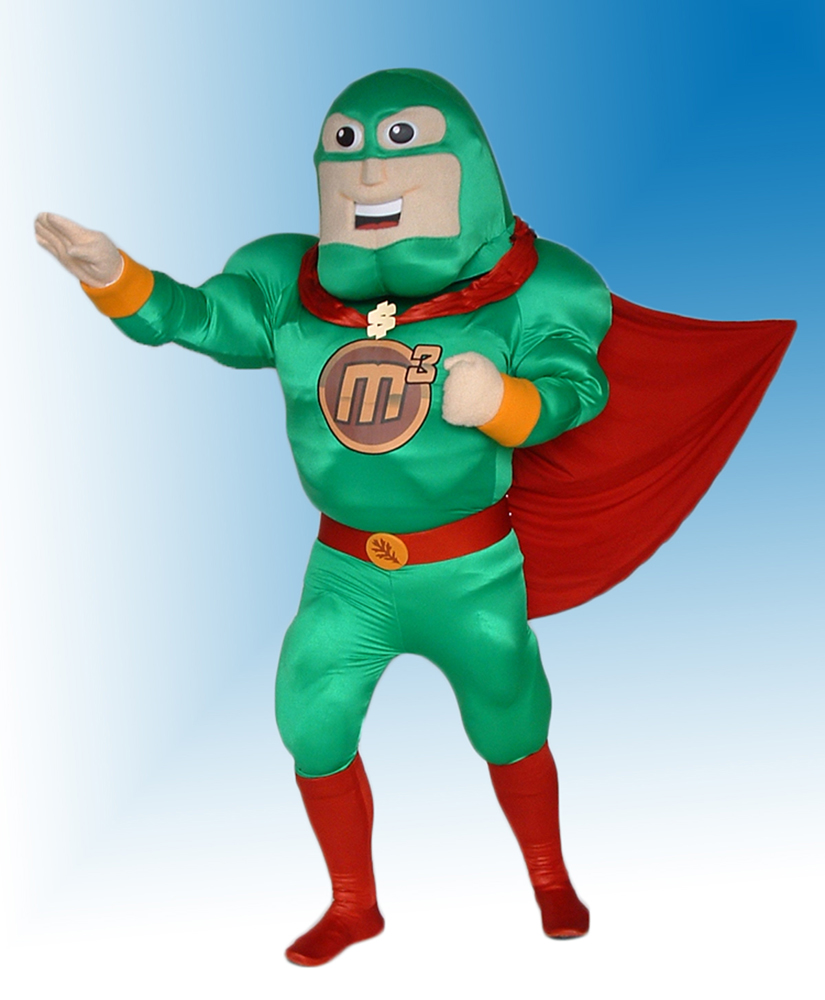 Money Maker Man M3 Mascot Costume