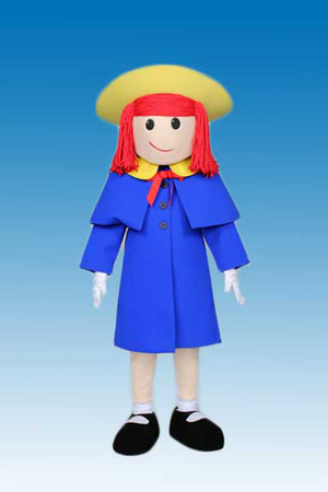 Madeline Mascot Costume