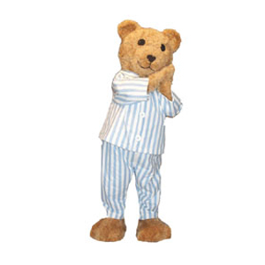 PB Bear Mascot Costume