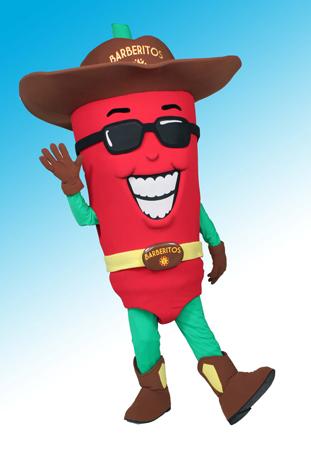 Pepe Pepper MAscot Costume