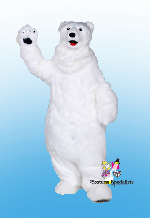 Large Polar Bear Rental Costume Mascot