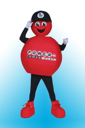 Powerball Louisiana Lottery Mascot Costume
