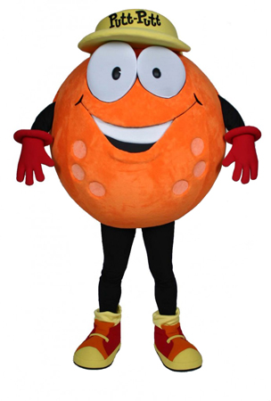 PuttPutt Golf Mascot Costume