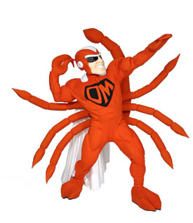 Super Scorp CI Mascot Costume