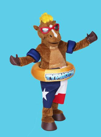 Typhoon Horse Mascot Costume