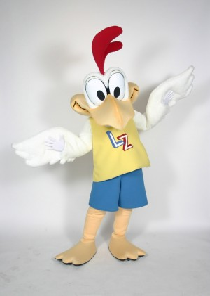 Little Zaxby LZ Mascot Costume