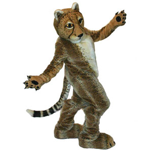 Cincy Zoo Cheetah Mascot Costume