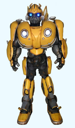 Transformers Bumblebee Custom Mascot for Hasbro and Walmart National Tour