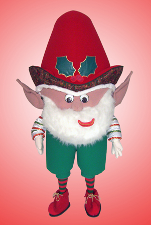 Christmas Elf mascot costume rental