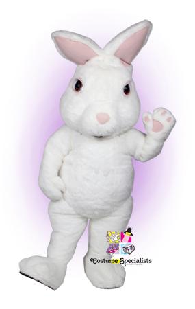 Fuzzy Bunny mascot costume rental