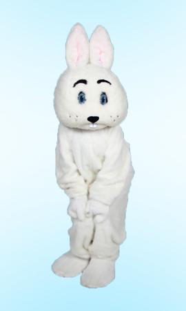 Jumbo Bunny Mascot Costume Rental