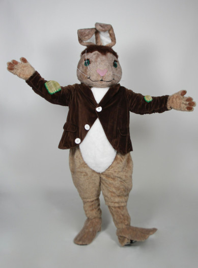 Patches the Rabbit mascot costume rental