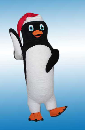 Penguin mascot costume rental