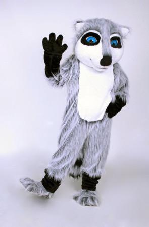 Raccoon mascot costume rental