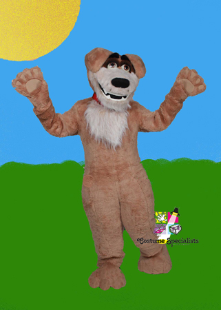 Dog Mascot Costume Rental