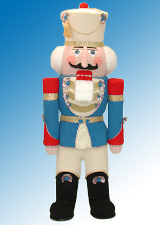 Royal Nutcracker mascot costume rental
