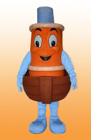 Scuffy the Tugboat mascot costume rental