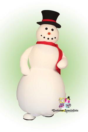 Snowman Rental Masccot Costume