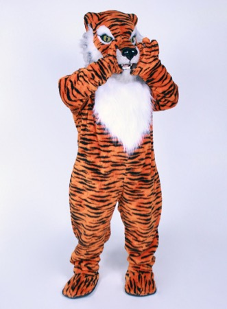 Tiger mascot costume rental