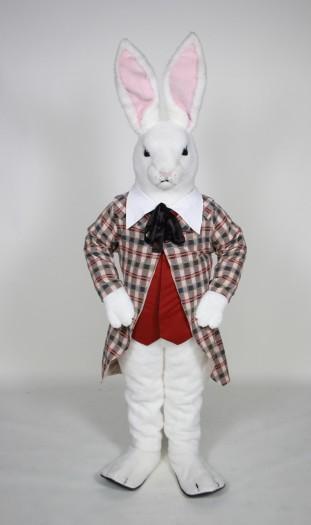 White Rabbit mascot costume rental