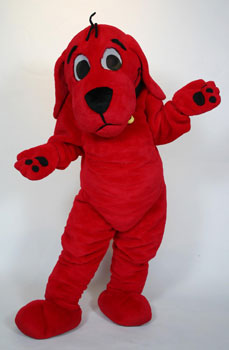 Clifford the Big Red Dog mascot costume rental