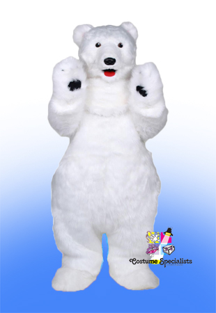 Polar Bear Cub rental costume mascot