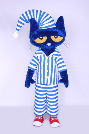 Pete the Cat in Pajamas