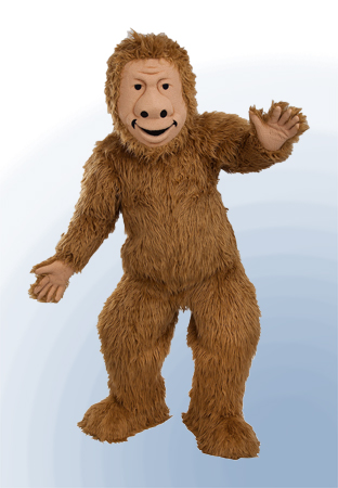Bigfoot Custom Mascot by Costume Specialists