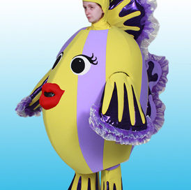 Custom Mascot by Costume Specialists for The Wiggles