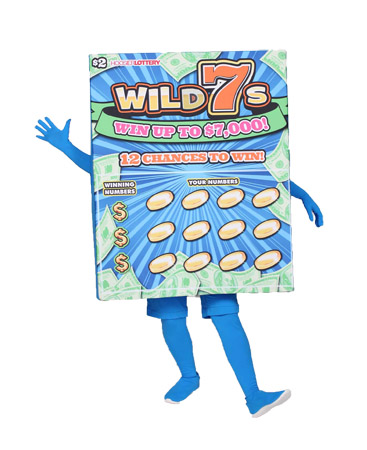 Wild Seven Custom Mascot for Hoosier Lottery by Costume Specialists