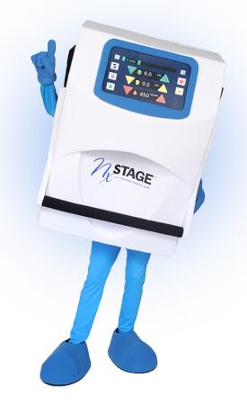 Custom Mascot of Versi Dialysis Machine