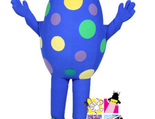 Blue Egg Costume