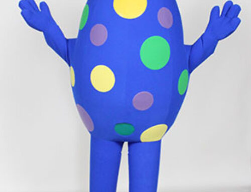 Blue Egg Costume